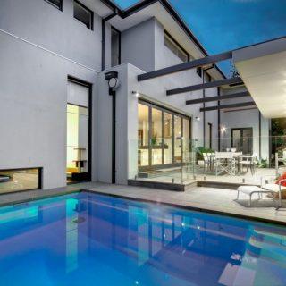 Fibreglass plunge pools