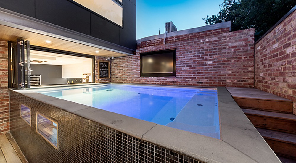 Plunge pools have many benefits