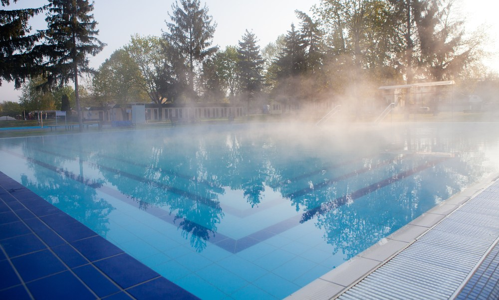 Pool heaters help your pool stay ready to swim
