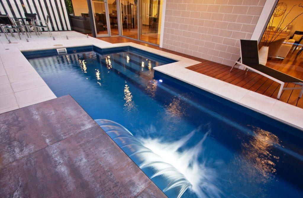 Lap pool installation
